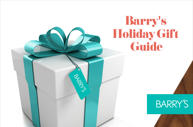 Barry's Holiday Gift Guide