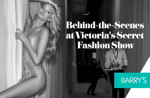 Behind-the-Scenes at Victoria's Secret Fashion Show