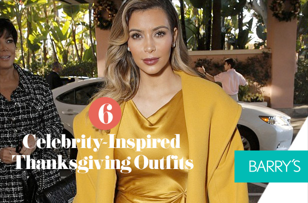 6 Celebrity-Inspired Thanksgiving Outfits