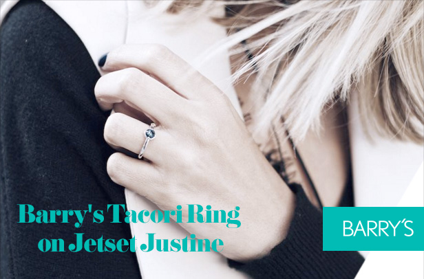 Featured: Barry's Tacori Ring on Jetset Justine