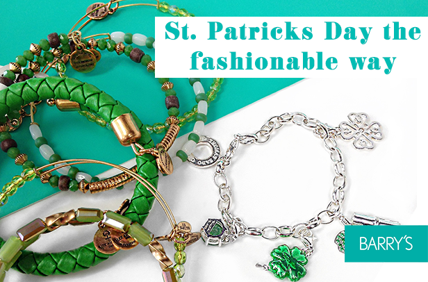 St. Patrick's Day the Fashionable Way
