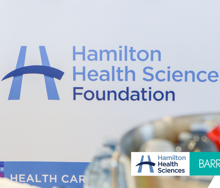 Barry's Gives Back: Hamilton Health Sciences Foundation