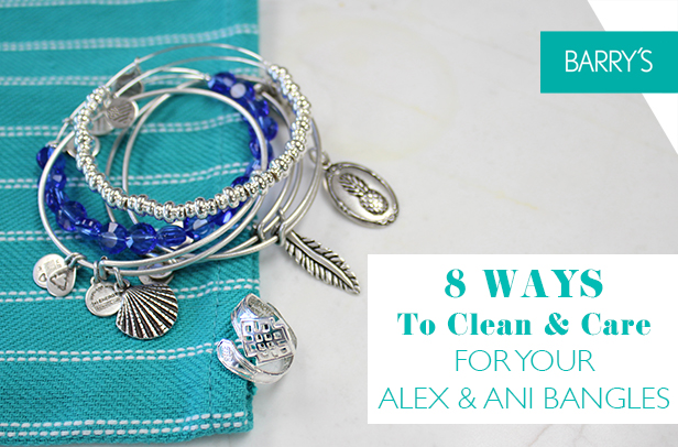 8 WAYS TO CLEAN AND CARE FOR YOUR ALEX & ANI BRACELETS