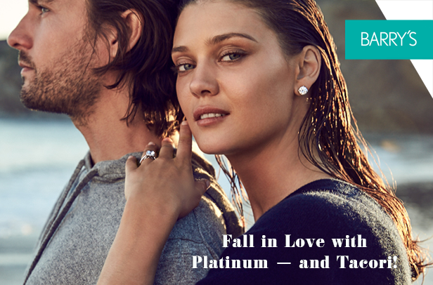 Fall in Love with Platinum – and Tacori!