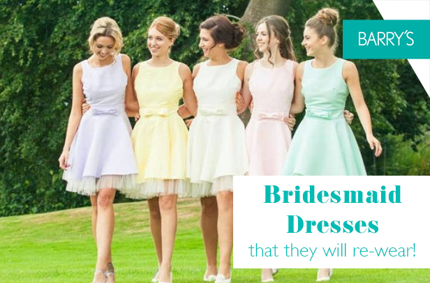 Bridesmaid Dresses that your Bridal Party will Wear Again