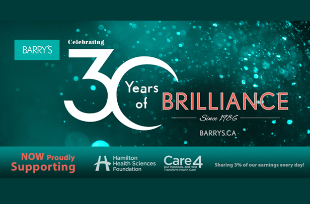 Barry's Celebrates 30 Years of Brilliance