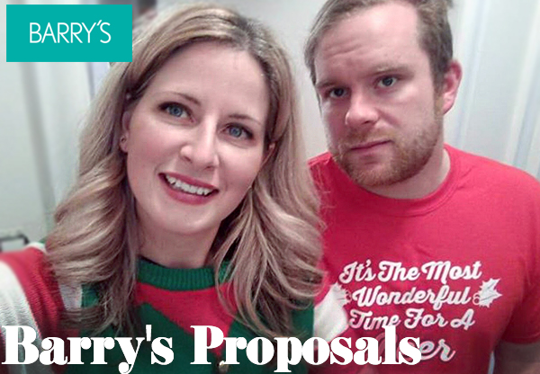 Barry's Proposals- Wanderlust Can Lead You To New Destinations & Love