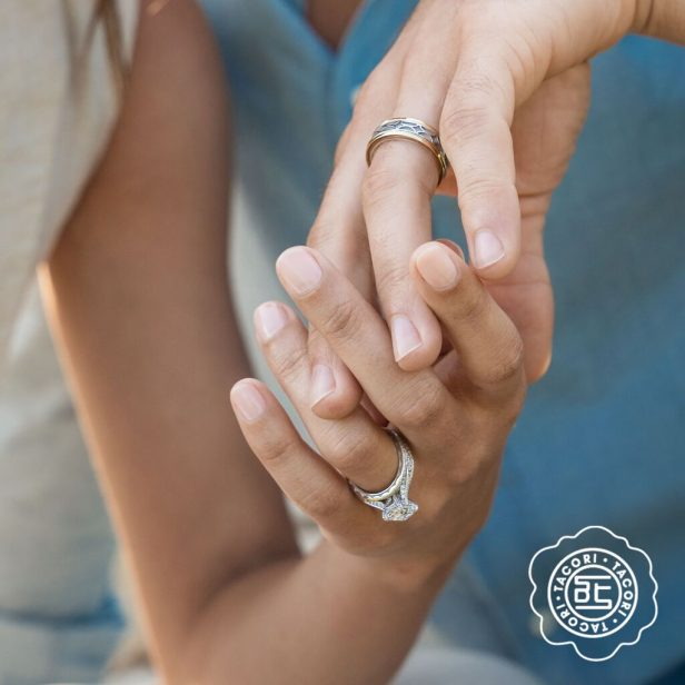 Go Hand in Hand With Matching Tacori Wedding Bands